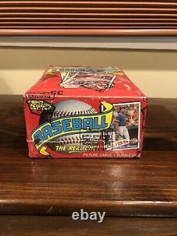 1985 Topps Baseball Wax Box BBCE 36 Packs McGwire Clemens Rookie RC Brand New