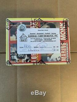 1985 Topps Football Unopened Wax Box BBCE Authenticated Moon RC, Non X-Out Mint