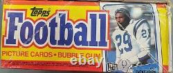 1988 Topps Football Wax Box 36 Unopened/Unsearched Packs Bo Jackson RC