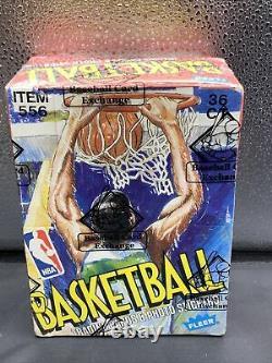 1989 Fleer Basketball Wax Box BBCE HOT, HOT, HOT