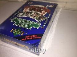 1989 Upper Deck Baseball High Series Unopened Box BBCE FASC Griffey PSA 10