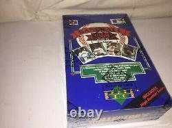 1989 Upper Deck Baseball High Series Unopened Box BBCE Griffey PSA 10