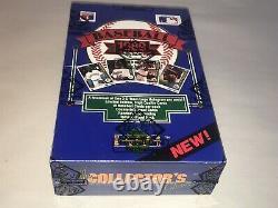 1989 Upper Deck Baseball Low Series Unopened Box BBCE Griffey PSA 10