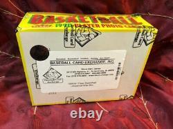 1990-91 Fleer Basketball Wax Box BBCE Wrapped/ Authenticated 36 Packs Jordan