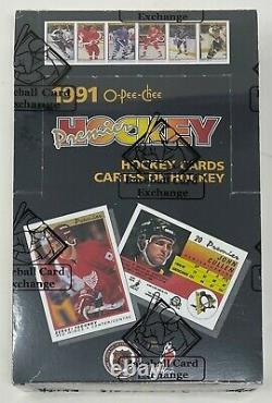 1990-91 OPC O-PEE-CHEE Premier Hockey Card BOX 36 PACKS Sealed BBCE Wrapped NHL