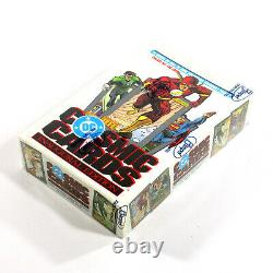 1991 Impel DC Cosmic Cards Trading Card Box (36 Packs) Inaugural Edition Sealed