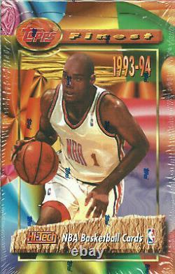 1993-94 Topps Finest Hobby Box Jordan Refractors