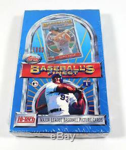 1993 Finest Baseball Box Ryan Piazza Griffey Ripken