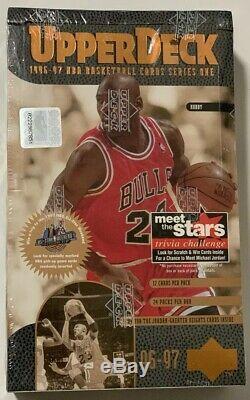 1996-97 Upper Deck Series 1 Basketball Hobby Box 24 Pack Factory Sealed