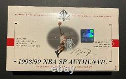 1998-99 UD SP Authentic Box (x1) NBA Basketball (CASE FRESH) Carter, Nowitzki