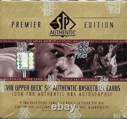 1998 SP Authentic Premier Box. Possible Michael Jordan auto, Sign of the Times