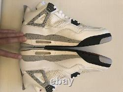 1999 Original Nike Air JORDAN IV 4 Cement New In Box Size 13 100% Authentic