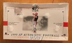 1999 SP AUTHENTIC FOOTBALL Hobby Box Factory Sealed UPPER DECK