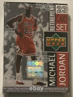 1999 Upper Deck Michael Jordan Last Dance Retirement 23 Card Factory Sealed Set