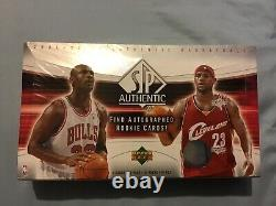 2004-05 Upper Deck SP Authentic sealed box