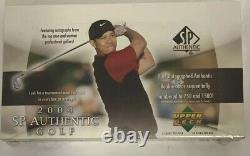 2004 Upper Deck SP Authentic Golf Hobby Box Factory Sealed 24 Pack
