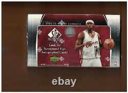 2005-06 Upper Deck SP Authentic Basketball Hobby Box Factory Sealed Poss Paul RC
