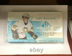 2005-06 Upper Deck SP Authentic Unopened Box RARE! Crosby Ovechkin