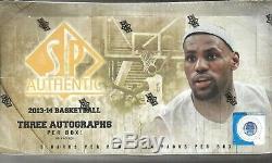 2013-14 SP Authentic Basketball Hobby Box Giannis Antetokoumpo AUTO
