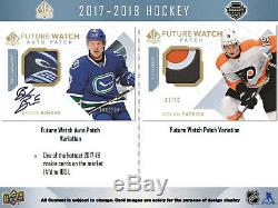 2017-18 Upper Deck SP Authentic Hockey Hobby Box NewithSealed