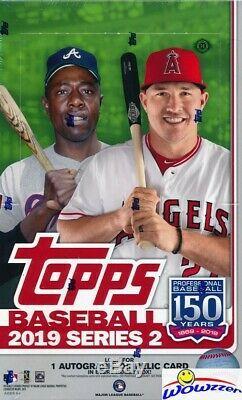 2019 Topps Series 2 Baseball Factory Sealed 12 Box HOBBY CASE-12 AUTOGRAPH/GU