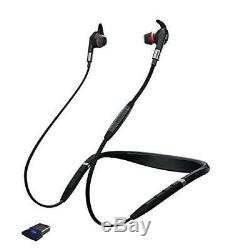 AUTHENTIC Jabra Evolve 75e Wireless Bluetooth Earbuds with USB Adapter OUT OF BOX