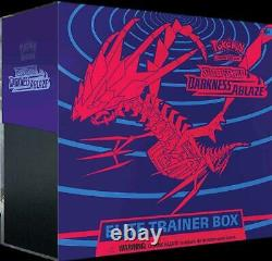 AUTHENTIC SWSH Darkness Ablaze SEALED Elite Trainer Box (OFFICIAL Pokemon Cards)