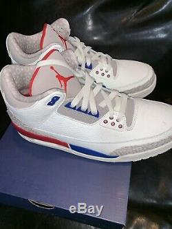 Air Jordan 3 Retro Mens Size 10 136064 140 New In Box Authentic Free Shipping