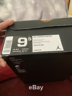 Air jordan retro 9 baron Size 9.5 New In Box Percent Authentic Retail