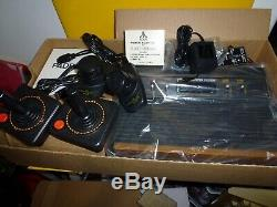 Authentic ATARI 2600 Console Complete System Display Unit In Original BOX