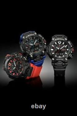 Authentic Casio G-Shock Gravity Master Quad Sensor Carbon Core Watch GRB200-1A