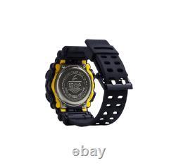 Authentic Casio G-Shock Men's GA900-1A Ana-Digi Black Resin Strap Watch