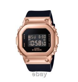 Authentic Casio G-Shock Metal Covered Bezel Digital Women BlackWatch GMS5600PG-1