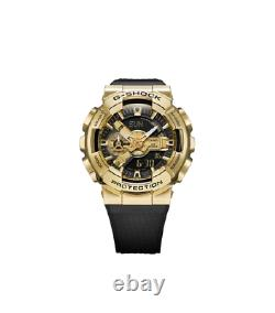 Authentic Casio G-Shock Shock Resistant Stainless Steel Bezel Watch GM110G-1A9