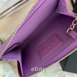Authentic Chanel Key Pouch in Patent Leather New withBox Dust Bag Copy of receipt