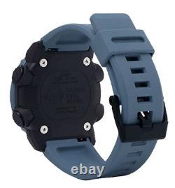 Authentic G-Shock Casio Ana-Digi Carbon Core Guard Blue Camo Watch GA2000SU-2A