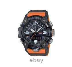 Authentic G-Shock Casio GGB100-1A9 Orange Mudmaster Carbon Core Guard Watch