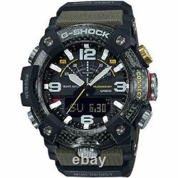 Authentic G-Shock Casio Master of G Mudmaster Carbon Core Guard Green GGB100-1A3