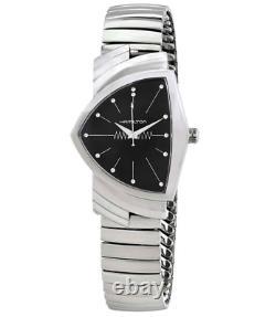 Authentic Hamilton Ventura Quartz Stainless Steel Men's Watch H24411232