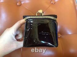 Authentic Louis Vuitton Vernis Amarente Jewelry Box Burgundy Monogram Patent