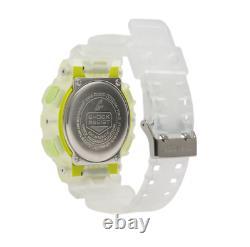 Authentic Men's G-Shock Casio Ana-Digi Translucent Resin Strap Watch GA110LS-7A