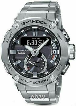 Authentic Men's G-Shock Casio Solar Carbon Core Bluetooth Watch GSTB200D-1A