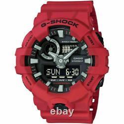 Authentic Men's GA700-4A G-Shock Casio Shock & Water Resist LED Ana-Digi Watch