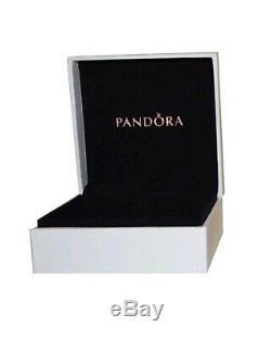 Authentic Pandora Charm Bracelet Silver with Blue Star European Charms