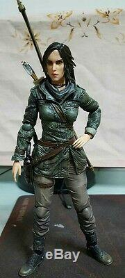 Authentic Square Enix Play Arts Tomb Raider Rise Lara Croft Action Figure no box
