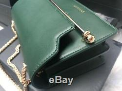 Authentic Strathberry East West Convertible Shoulder Bag GREEN NWT & box MINI