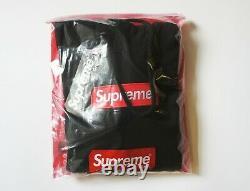 Authentic Supreme Box Logo Black Hoodie BNWT Supreme Grip Italfigo F/W2020