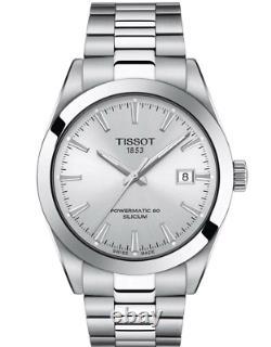 Authentic Tissot Gentleman Powermatic 80 Silicium Men's Watch T1274071103100