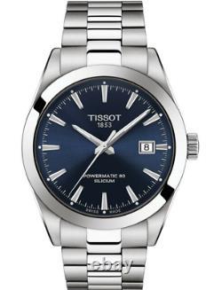 Authentic Tissot Gentleman Powermatic 80 Silicium Men's Watch T1274071104100