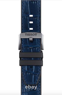 Authentic Tissot T-Race Swissmatic Blue Strap Men's Watch T1154071704100